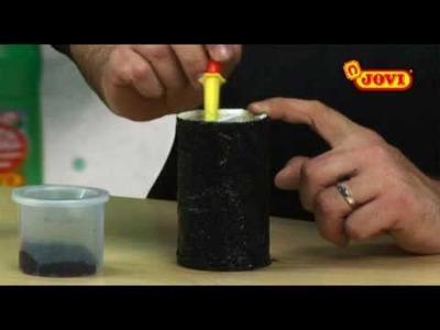 Dibujo Jovi: Lapicero con efecto plata y oro viejo - Ceras Jovicolor metalizadas