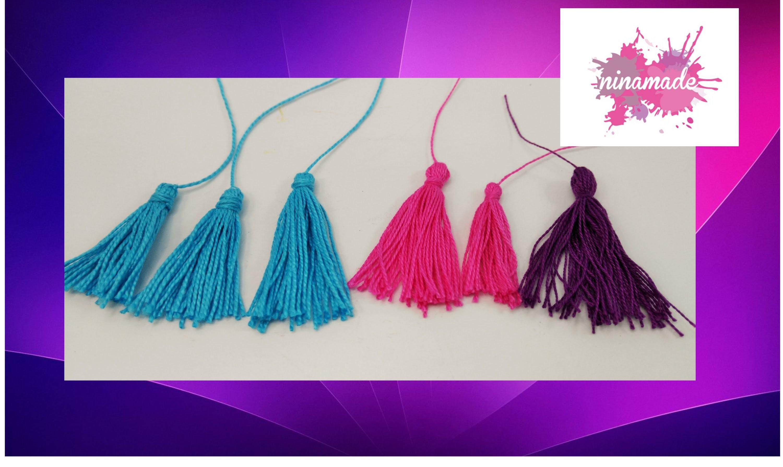 DIY. Como hacer pompones de hilo. Muy fácil!!!.How to make yarn pom-poms