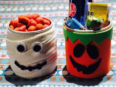 DIY Dulceros para Halloween parte 1. Confectioners for Halloween part 1