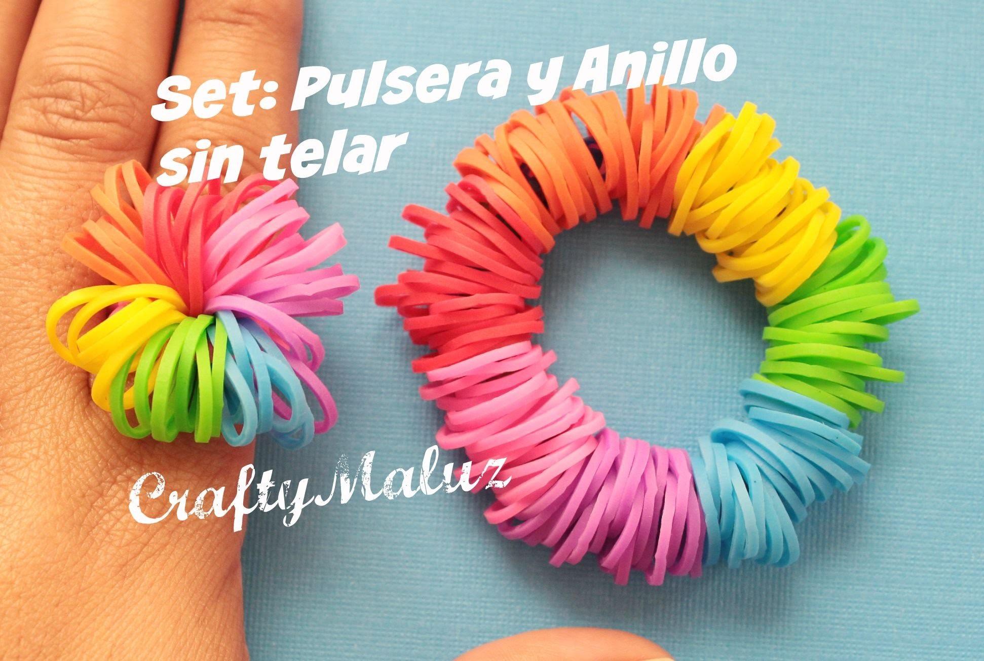 DIY : Pulsera Gusy Gusano de Gomitas. Rainbow Slinky Bracelet