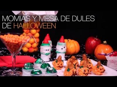 Momias y Mesa de Dulces de Halloween 2015. DIY Alejandra Coghlan