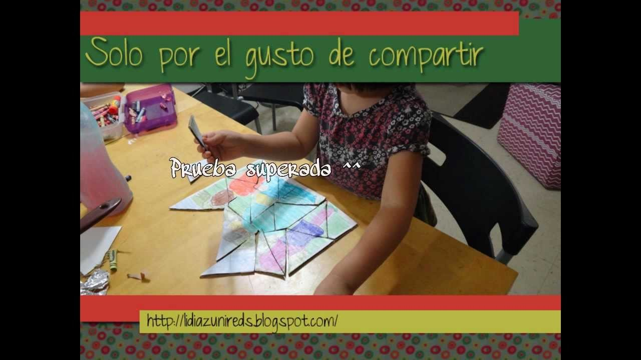 Rompecabezas Facil con fotos. Easy Puzzle with own pictures ☺✄✄