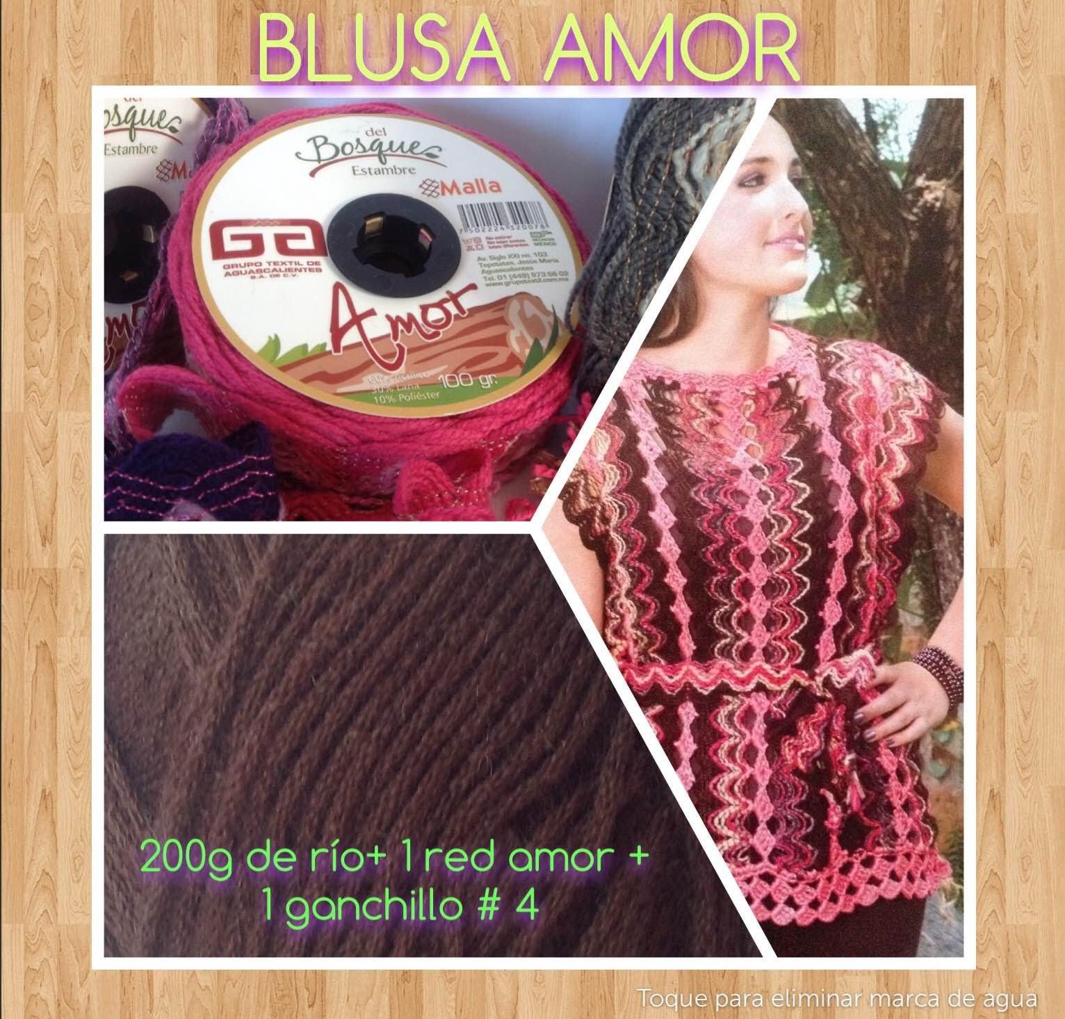 BLUSA DE RED AMOR - Tejido en Crochet Fácil y Rápido - Tejiendo con LAURA CEPEDA