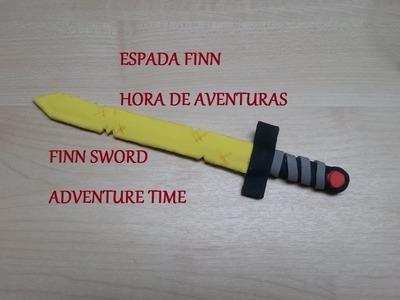 Cómo hacer la Espada de Finn Hora de Aventuras. DIY Finn sword Adventure Time.