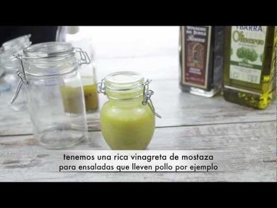 Cómo hacer Vinagretas