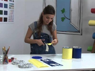 Hacer manualidades: cómo realizar unos zancos con un bote de Nesquik