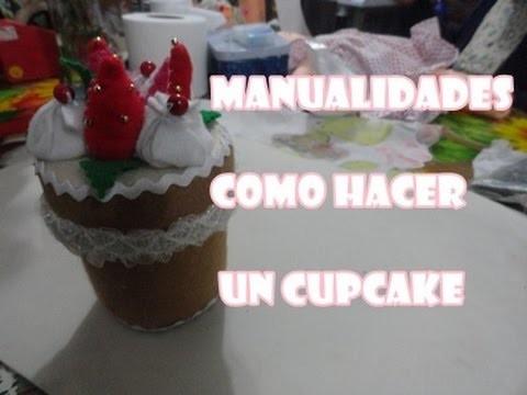 MANUALIDADES FACILES - Como Hacer Cupcakes