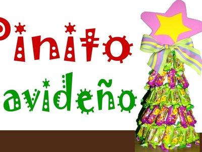Manualidades navideñas.  Pinito dulce de navidad♥
