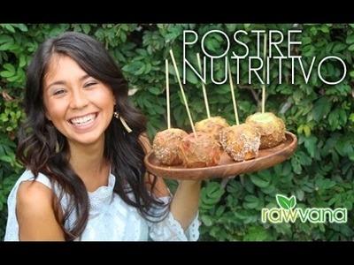 POSTRE NUTRITIVO-- Manzanas Acarameladas!