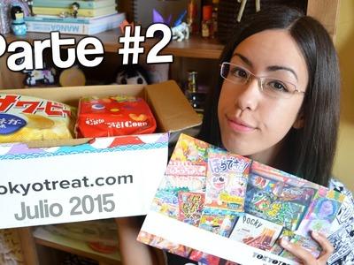 Tokyo Treat Julio #2: ¡Caramelos, chicles y DIY's!