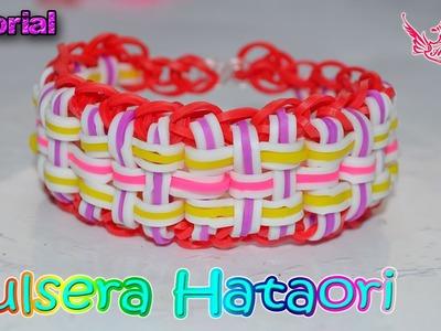 ♥ Tutorial: Pulsera Hataori (sin telar) ♥