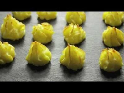 Cómo hacer Patatas Duquesa con Aceite de Oliva Virgen Extra