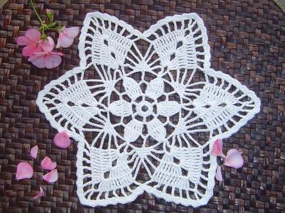 Como hacer tapete o carpeta a crochet paso a paso DIY parte 1.2