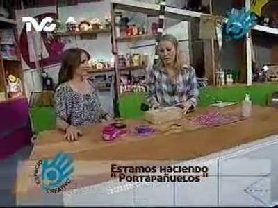 Cómo hacer un Portapañuelos (EC)