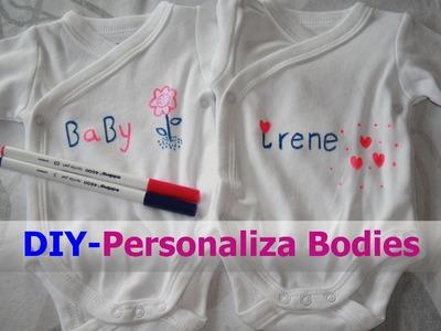 DIY infantil, personaliza los bodies