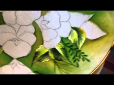 Pintura en tela pensamientos # 1 con cony