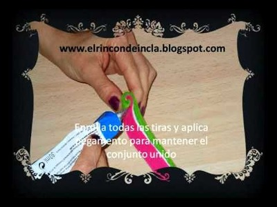 Tutorial broche de fieltro piruleta