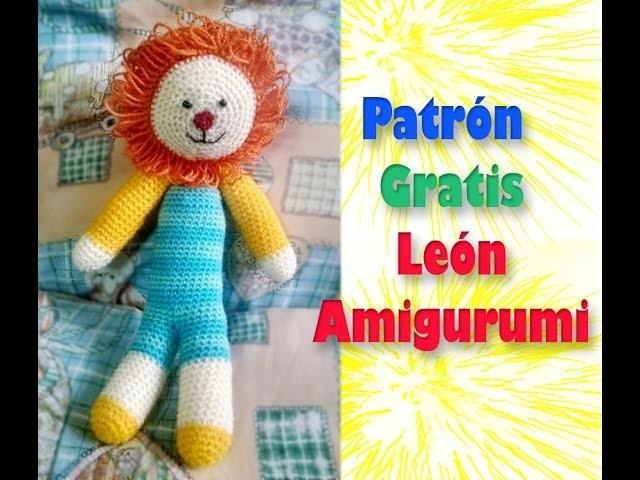 AMIGURUMI LEON PATRON CROCHET