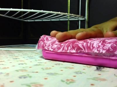 BABY SHOWER:como decorar una cajita d tuallitas humedas(1st parte)