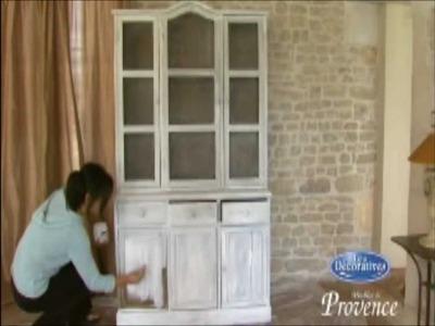 Como aplicar pintura acabado provenzal a un mueble