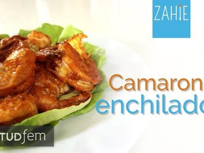 Cómo hacer camarones enchilados | Zahie | ActitudFEM