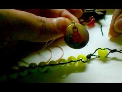 Como hacer un bello rosario paso a paso con medallas,cruses lo que les guste
