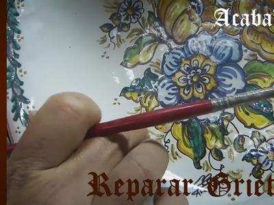 Curso de Cerámica - Reparar Grietas en Platos de Cerámica