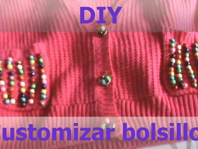 DIY customizar bolsillos
