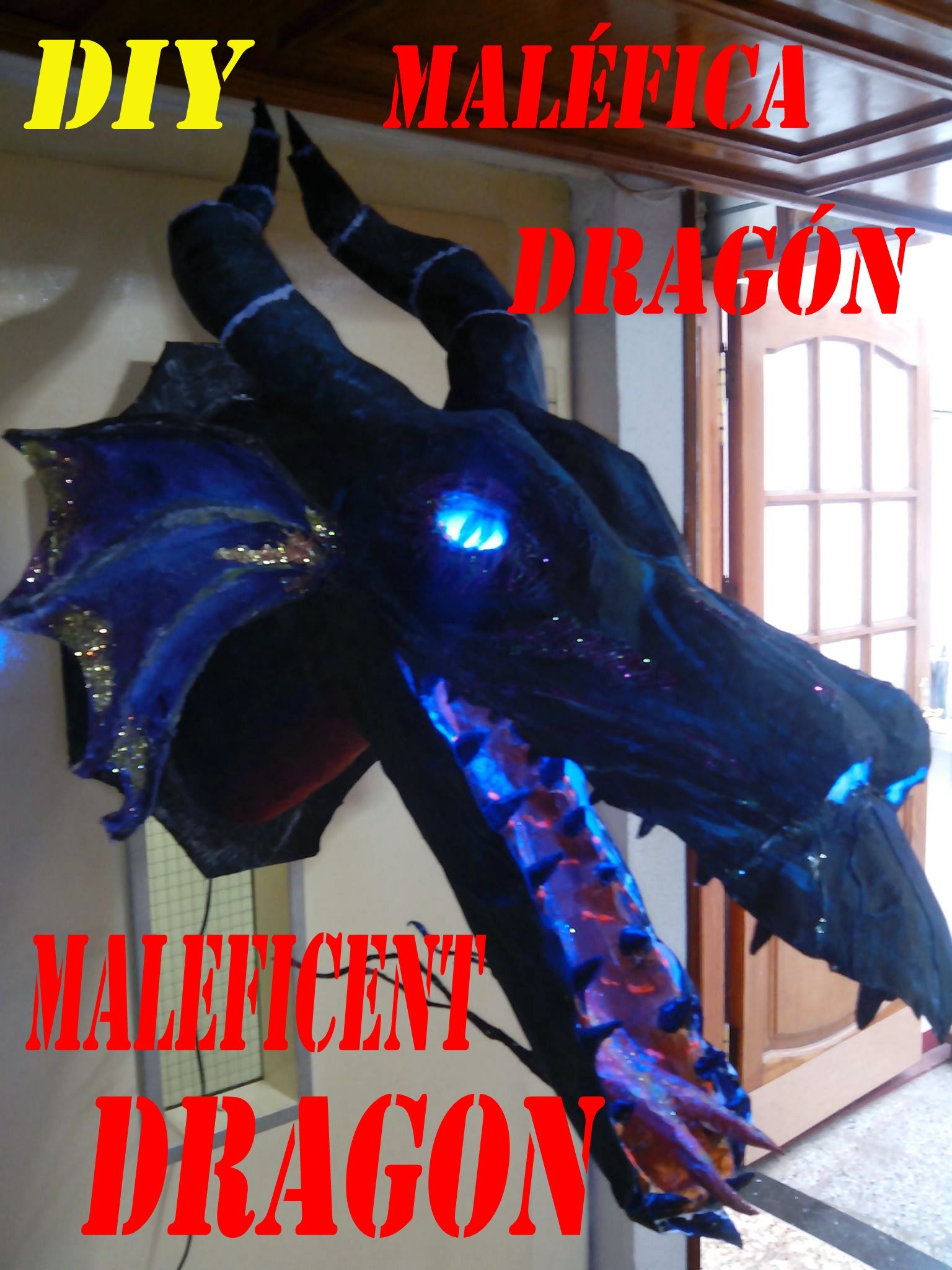 DRAGÓN MALÉFICA, MALEFICENT DRAGON