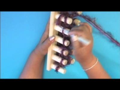 Filati Estambres aprende a tejer con Telar Griego Romano y Maya
