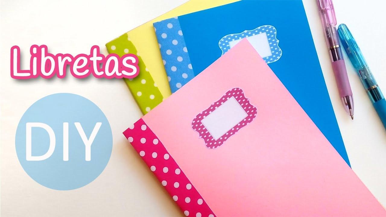 Manualidades: LIBRETAS (Cuadernillos de notas) muy fácil - Innova Manualidades