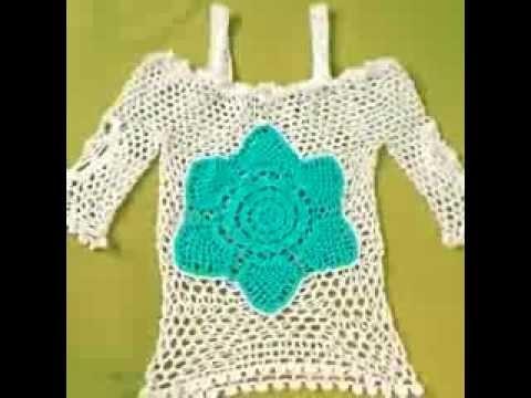 Polo Flor a crochet VID 20140221 174356