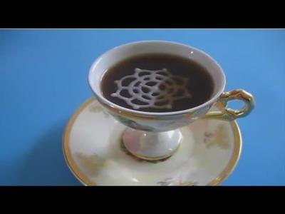 Puntilla de Azucar Casera - Homemade Sugar Lace