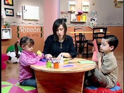 Rincón de Arte Infantil -- Tarjeta para papá