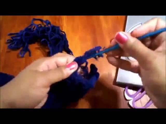 Bufanda en crochet que hace juego con Beanie Hat   Ideas de cintillos y bufandas