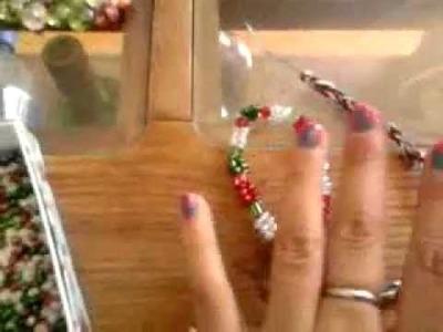 Como hacer una pulsera tricolor