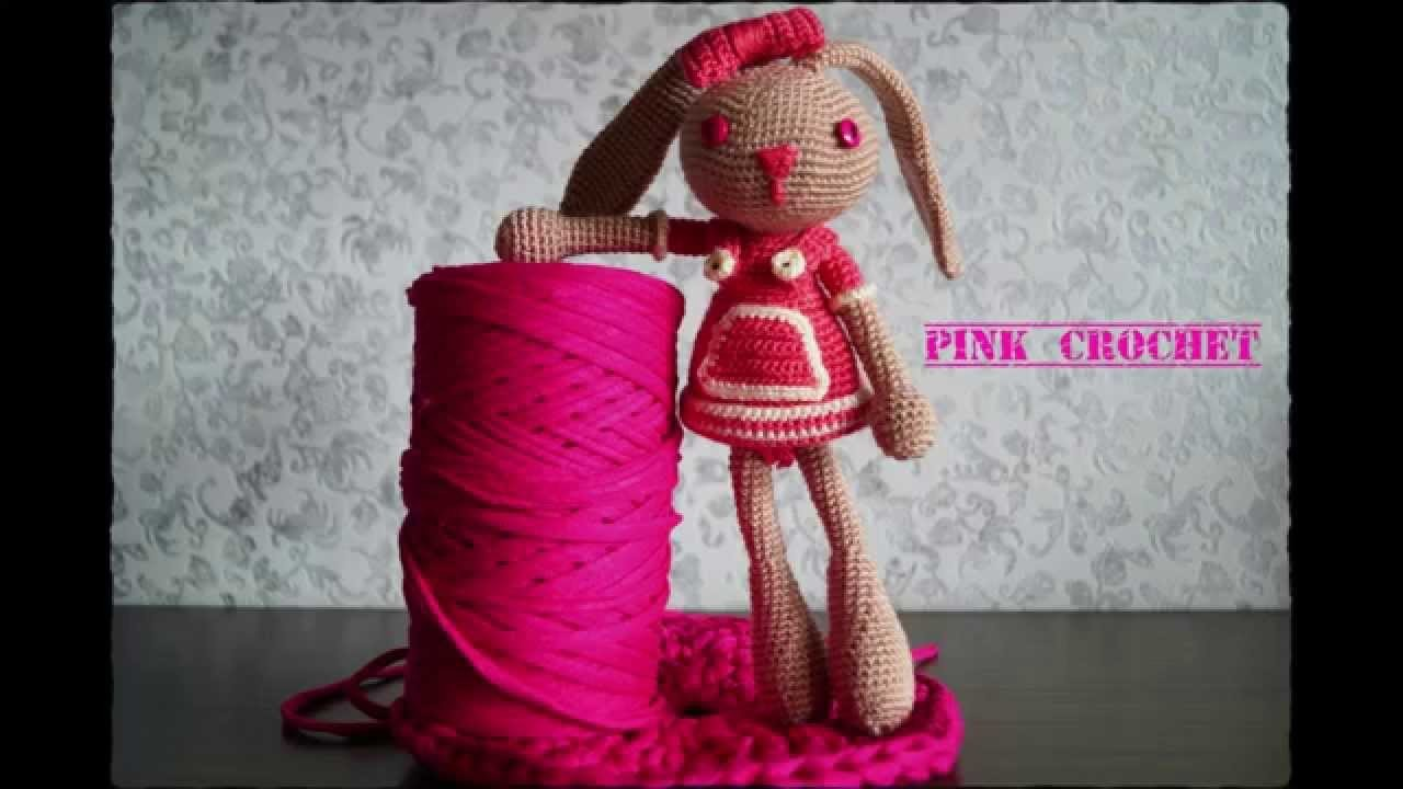 Conejita Amigurumi Pink Crochet