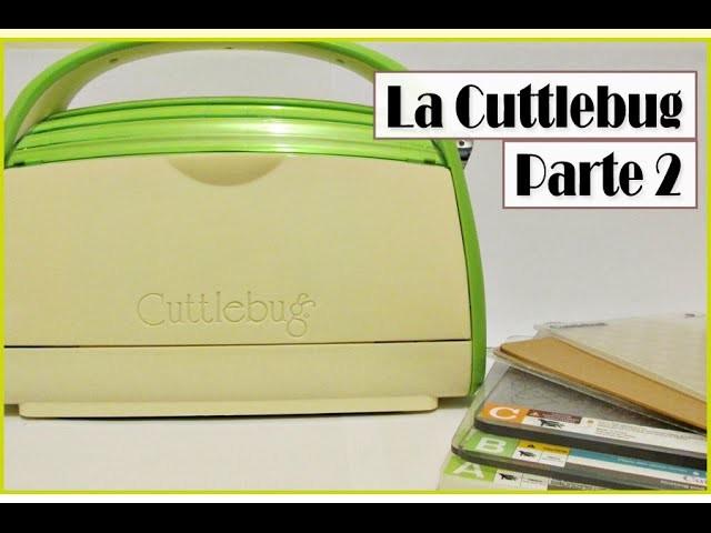 Cuttlebug Parte 2 - Tapete para embosar