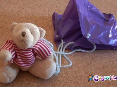 DIY Manualidades: Paracaidas para tus muñecos