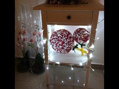 DIY - Piruleta para decoración de Navidad | Raisa Falcão | Raisa Falcão