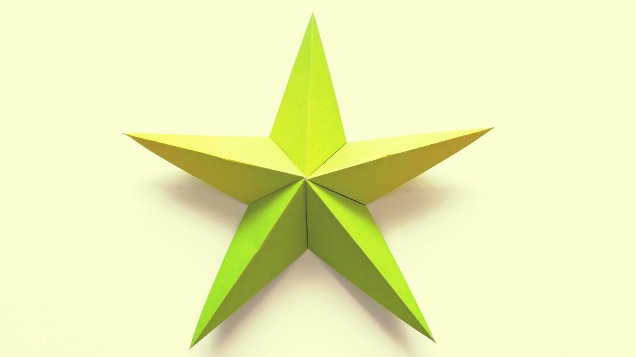 Estrella en Origami - Estrella de Mar | Manualidades - DIY