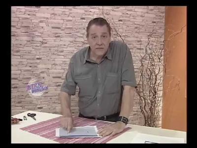 Hermenegildo Zampar - Bienvenidas TV - Explica como coser un Bolsillo Ojal.