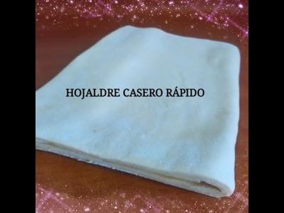 HOJALDRE RAPIDO EN 1 HORA PASO A PASO- Silvana Cocina y Manualidades