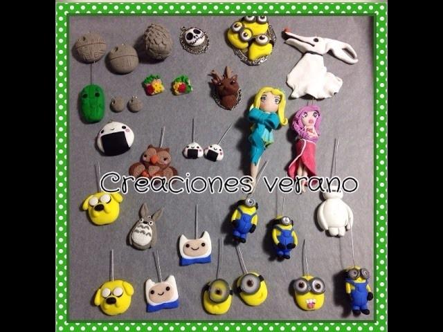 Mis creaciones sculpey fimo.my polymer clay creations charms fimo