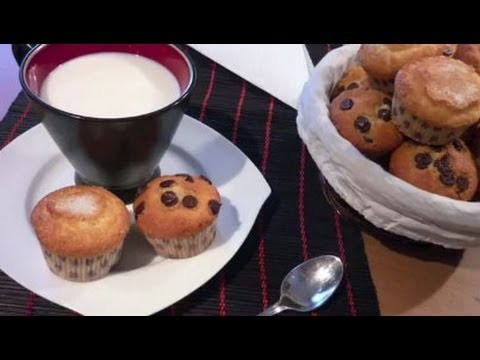 Receta de Magdalenas o Muffins Caseras Paso a Paso