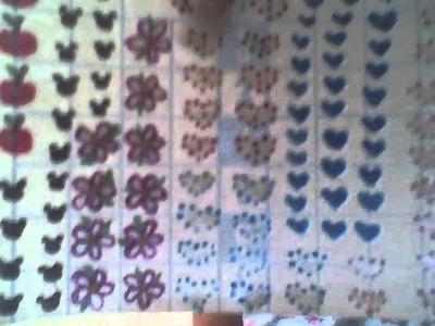 Stickers caseros con lo sobrante de papel contac  (reciclando para un mundo mejor)