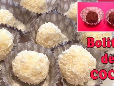 Bolitas de coco I Receta fácil con 2 ingredientes