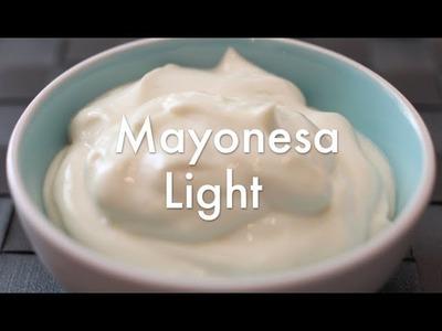 Cómo hacer Mayonesa light casera - Recetas de salsas