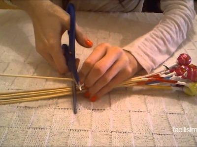 Cómo hacer ramos de chupachups | facilisimo.com
