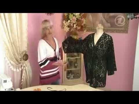 Como hacer una blusa de encaje